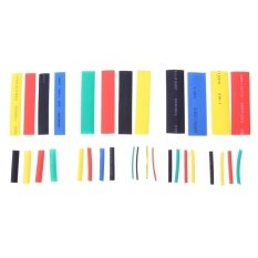 328Pcs Cable Sleeve Insulated Heat Shrink Tubing Wrap Wire Set Intl เป็นต้นฉบับ