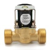 3 4 Inch Npsm 12V Dc Vdc Slim Brass Electric Solenoid Valve Gas Water Air N C Gold Intl ใหม่ล่าสุด