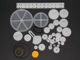 ขาย 34 Kinds Of Rack And Pinion Gear Bag Toy Model Pulley Plastic Worm Gear Reducer Diy Kit Board Intl Unbranded Generic ใน จีน