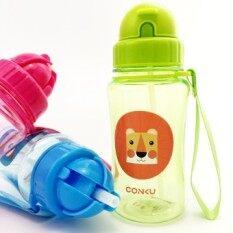 ซื้อ 350Ml Water Bottle Bpa Free Children Water Cup Eco Friendly Kids Straw Cup With Rope Cartoon Mug Portble Baby Tumbler Student Intl Unbranded Generic ออนไลน์