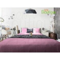 ราคา ชุดเครื่องนอน สีม่วง 3 5Ft 2Pcs Luxury Classic Style Cotton 100 โรงแรม 5 ดาว Scn Boutique ใหม่