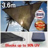 ซื้อ 3 6M สแลนกรองแสงกันแดด วัสดุทนต่อรังสี180 แกรม Triangle 3 6M Outdoor Garden Sun Sail Shade ใน สุราษฎร์ธานี