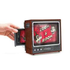Smartphone Projector แนวย้อนยุคมินิ Tv โทรทัศน์หน้าจอโทรศัพท์แว่นขยาย 3d ฉายของเล่น By Taobao Collection.