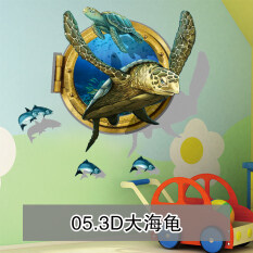 ขาย 3D ห้องนอนห้องนั่งเล่นทีวีพื้นหลังสติ๊กเกอร์ติดผนังสามมิติสติ๊กเกอร์ติดผนัง Qian Yun ออนไลน์