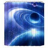 ราคา 3D Space Curtain Mysterious Space Shower Curtain 70 8 Intl Easygobuy เป็นต้นฉบับ