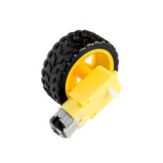 โปรโมชั่น 3Lot Deceleration Dc Motor Supporting Wheels Smart Car Chassis Motor Robot Car Wheels Intl Unbranded Generic ใหม่ล่าสุด
