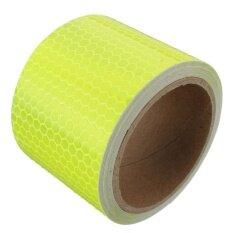 3m สะท้อนแสงความปลอดภัยแผ่นฟิล์มสติกเกอร์เทปกาวพ่นด้วยตนเองสีเหลือง - นานาชาติ By Threegold.