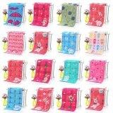 ทบทวน ที่สุด 3Pcs Children Towel Shower Room Hanging Cotton Three Layer Gauze 50 25Cm Random Color Intl