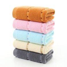 ราคา 3Pcs Lot 33 74Cm Lover Christmas Gifts 32 Shares Of The Dots Cotton Face Towel Bathing Towel Intl ที่สุด