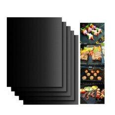 โปรโมชั่น 3Pcs Grill Mat 100 Non Stick Bbq Grill Baking Mats Reusable 33 X 40