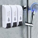 ซื้อ 3X 350Ml Wall Mounted Bathroom Shower Body Lotion Shampoo Liquid Soap Dispenser Intl ใหม่