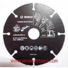 ราคา ใบเลื่อยเอนกประสงค์ 4 Bosch Carbide Multi Wheel ที่สุด