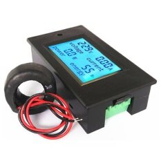 ราคา Watt Meter มิเตอร์วัดไฟ 4 In 1 Voltage Current Power Watt Energy Electricity Meter With Coil Ct Pzem 061 รองรับ Ac 80 260V กระแสสูง 100A Multi Function Lcd Digital Display Btc Eth Miner เป็นต้นฉบับ