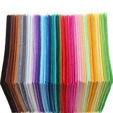 ซื้อ 40 Pcs 1Mm Thickness Polyester Felt Sheets Non Woven Fabric Intl ถูก