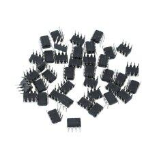 โปรโมชั่น 40 Pcs Plastic Metal Ne555P 555 Dip 8 Ic Timers Kit Electrical 9 5 7Mm ใน จีน