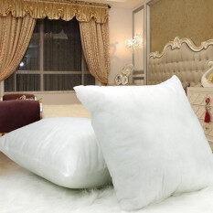 ขาย 400G White Cotton Throw Hold Pillow Inner Pads Inserts Fillers Home Bed Sofa Cushion Intl Unbranded Generic