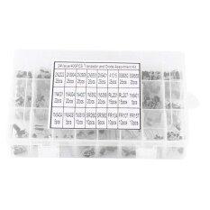 ขาย 400Pcs 24 Values Transistors And Rectifier Diodes Assortment Set With Storage Box Intl ถูก