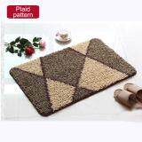 โปรโมชั่น 40X120Cm Pattern Printed Bathroom Carpets Doormats Anti Slip Polyester Floor Mat Pad For Living Room Bath Kitchen Plaid Pattern Intl Unbranded Generic