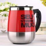 ซื้อ 450Ml Stainless Self Stirring Mug Auto Mixing Drink Tea Coffee Cup Home Red Unbranded Generic