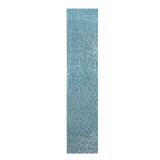 ส่วนลด 45X200 เซนติเมตรโมเสคอลูมิเนียมฟอยล์กาววอลล์เปเปอร์สีฟ้า