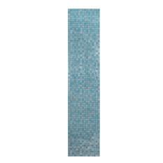 ซื้อ 45X200 เซนติเมตรโมเสคอลูมิเนียมฟอยล์กาววอลล์เปเปอร์สีฟ้า ถูก ใน จีน
