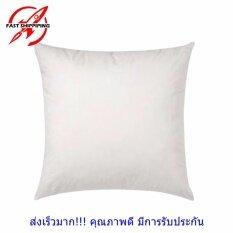 ซื้อ Maewthai ไส้หมอนอิง ขนาด 45X45 ซม สีขาว ทำจากใยสังเคราะห์นุ่ม ยืดหยุ่นสูง เนื้อแน่น ลดปริมาณไรฝุ่น ใหม่ล่าสุด