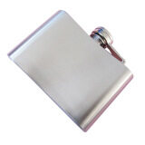ความคิดเห็น 4Oz Pocket Stainless Steel Hip Flask Funnel Whiskey Wine Liquor Drinking Alcohol