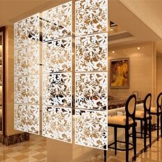 4Pcs Hanging Screen Partition Room Divider Butterfly Flower Wall Home Sticker Unbranded Generic ถูก ใน จีน
