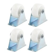 4pcs Light Duty Rigid Casters Wheels Directional Furniture Trolley Wheel Replacement - Intl.
