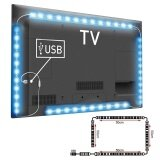 ขาย 4Pcs Usb Mood Light Rgb Multi Color Led Strip Light Tv Backlight Remote ใหม่