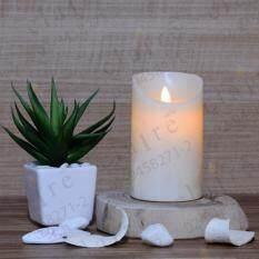 ขาย ริน เทียนแอลอีดี ขาว 5 นิ้ว แวกซ์ 1 ชิ้น Rin Candle ผู้ค้าส่ง