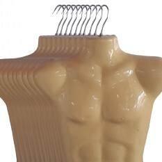ขาย หุ่นโชว์เสื้อชาย พาสติกครึ่งตัว แพค10 ถูก กรุงเทพมหานคร