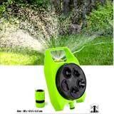 ส่วนลด ชุดสปริงเกอร์รดน้ำ สปริงเกอร์สวน รุ่นปรับได้ 5 รูปแบบ สีเขียว Unbranded Generic