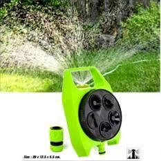 ขาย ชุดสปริงเกอร์รดน้ำ สปริงเกอร์สวน รุ่นปรับได้ 5 รูปแบบ สีเขียว Unbranded Generic ใน กรุงเทพมหานคร