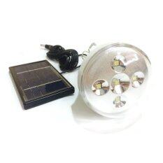 โปรโมชั่น 5 Led โคมไฟอเนกประสงค์พลังงานแสงอาทิตย์ Unbranded Generic
