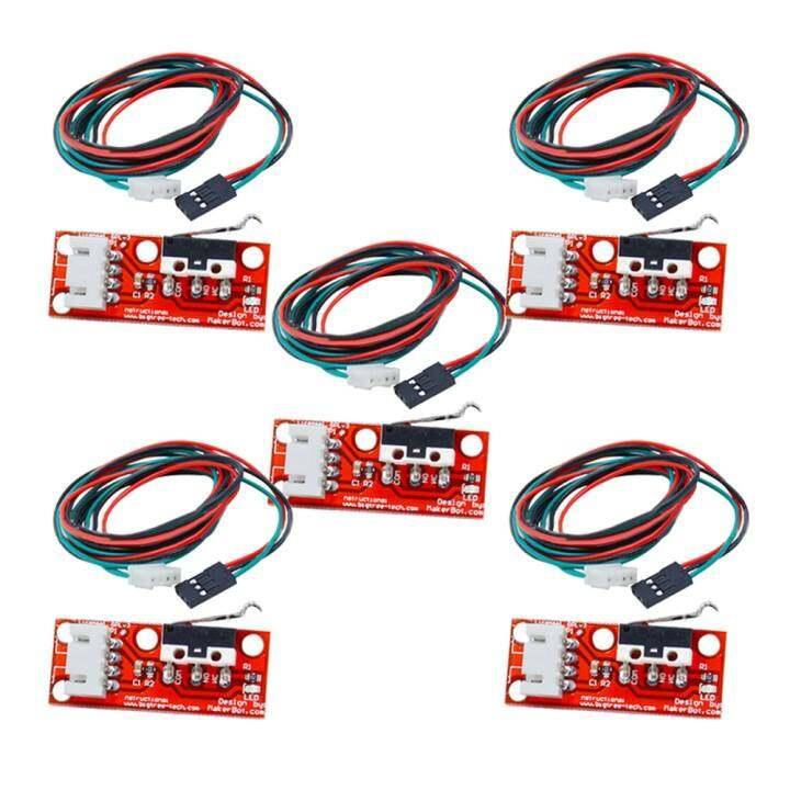 รีวิว 5 Pack Mechanical Endstop Switch with Cable for 3D