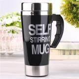 ราคา 500Ml Stainless Lazy Self Stirring Mug Auto Mixing Tea Coffee Cup Office Gift Black เป็นต้นฉบับ