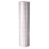 500ชิ้น X 10 ม้วนด้วยสีแดงเส้นเติมป้ายกระดาษสำหรับ Mx 5500 ปืนติดป้ายราคา ใน Thailand