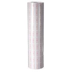 ขาย 500ชิ้น X 10 ม้วนด้วยสีแดงเส้นเติมป้ายกระดาษสำหรับ Mx 5500 ปืนติดป้ายราคา