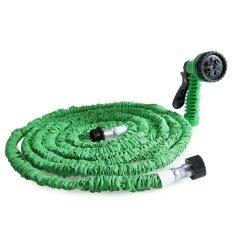 ความคิดเห็น 50Ft Expandable Garden Hose Pipe With 7 In 1 Spray Gun Green Intl