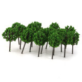 ซื้อ 50Pcs Model Train Trees Scenery Landscape Green 1 300 ออนไลน์ ถูก
