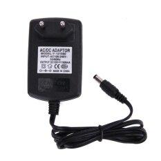 ซื้อ 5 5 2 5Mm Dc12V 1 5A อะแดปเตอร์ Ac ไปยัง Dc Converter แหล่งจ่ายไฟ สีดำ Eu Plug ถูก ใน จีน