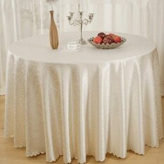 ส่วนลด 55 Square Tablecloth Elegant Flower Pattern Wedding Banquet Party Table Cover Intl Unbranded Generic จีน