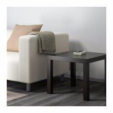 ขาย โต๊ะข้าง น้ำตาลดำ ขนาด 55X55 ซม Unbranded Generic เป็นต้นฉบับ