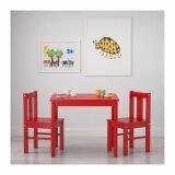 ซื้อ โต๊ะเด็ก แดง ขนาด 59X50 ซม Unbranded Generic เป็นต้นฉบับ