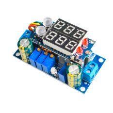 ราคา 5A Mppt Solar Panel Controller Dc Dc Step Down Cc Cv Charging Module Display Led จีน