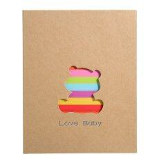 ราคา 5Inch Photo Picture Storage Album Case Memory Book 3R Baby Kids Family Memo Gift Bear