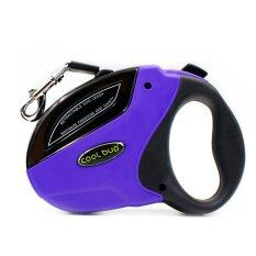 ทบทวน 5M Large Pet Dog Automatic Retractable Traction Rope Violet
