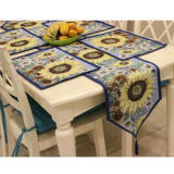 ขาย 5Pcs Set Sunflowers Pattern European Table Runners 1Pcs Placemat 4Pcs Home Decor Washable Table Flag For Wedding Tea Table Tv Ark Intl Unbranded Generic เป็นต้นฉบับ