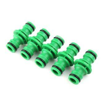 5Pcs 10Cm Water Hose Tube Fitting Quick Connector Garden Lawn Tap Joiner Joint Repair Coupler Practical Water Hose Connector Water Hose Connector Pipe Adapter-